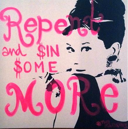 Audrey Hepburn Breakfast At Tiffanys Quote