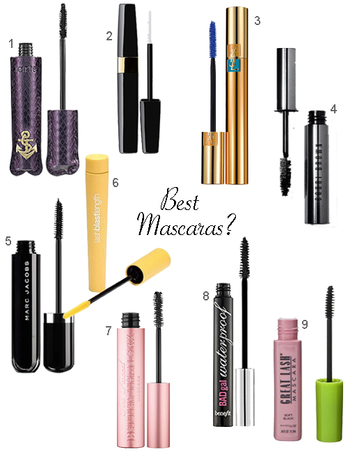Waterproof Mascara Designer & Drugstore Brands