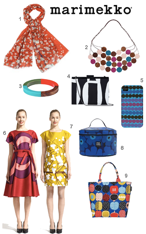 Marimekko Clothing Jewelry Accessories Presents