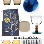 Get the Look: Marimekko Tableware for Thanksgiving