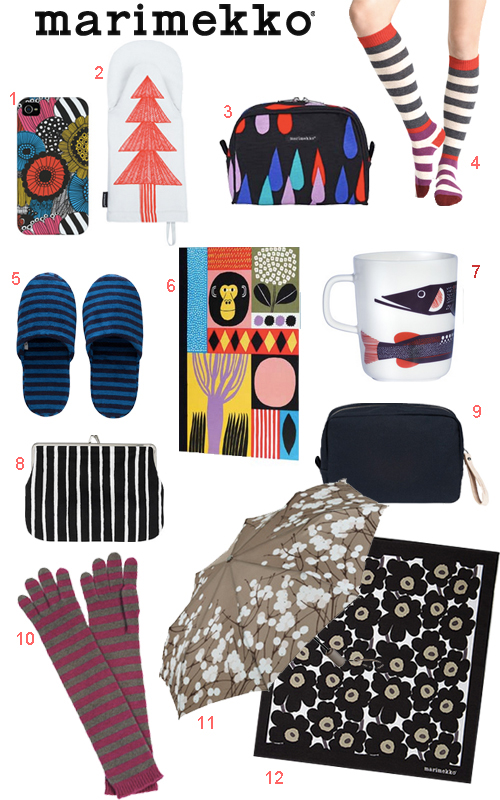 Marimekko Holiday Stocking Stuffers For Everyone