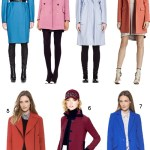 Get the Look: Colorful Overcoats