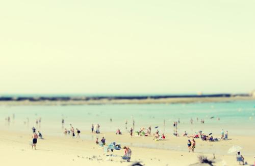 Beach Scene Margarita Kazanovich