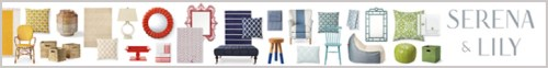 Serena & Lily Home Furnishings & Accessories In Every Color