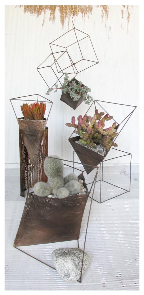 industrial-geo-planters