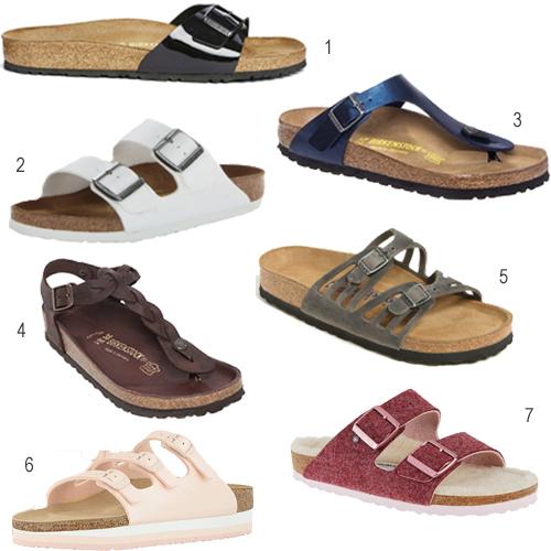 Get The Look Every Type Of Birkenstock Sandal Stylecarrot