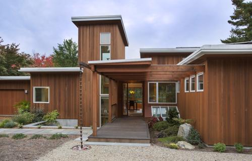 Contemporary Architecture Home in Lexington Massachusetts