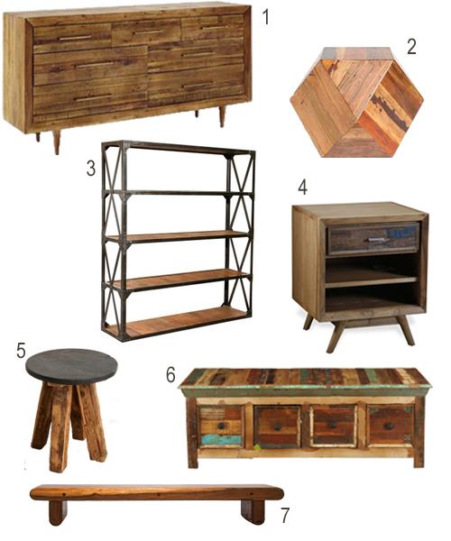 Get The Look: Reclaimed Wood Bedroom Furniture