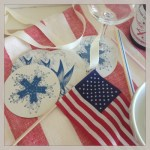 Montage: Red, White & Blue Tablescapes