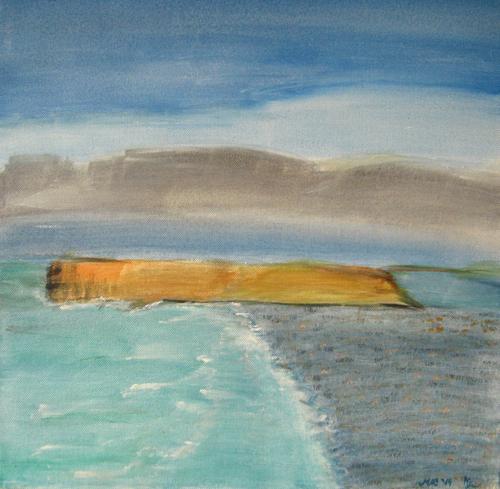 Nude watercolors of steve hanks - 1 6