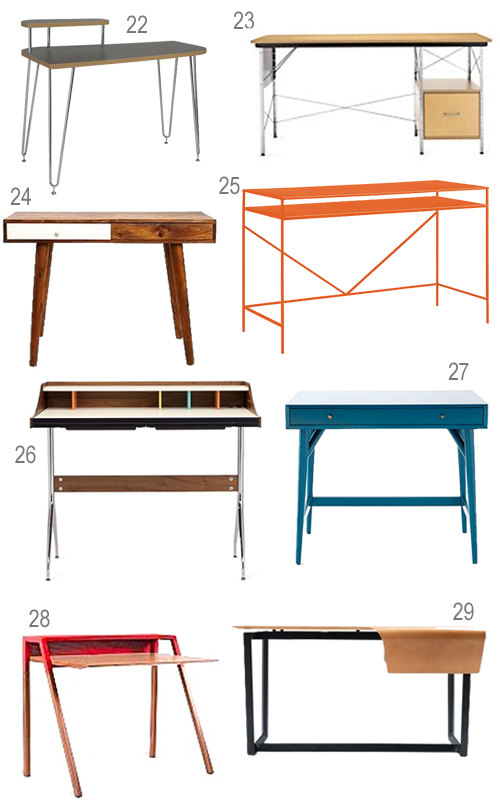 Get the Look 42 Modern Desks For Your Home Office