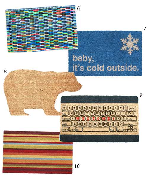Get The Look 20 Modern Doormats Stylecarrot