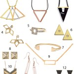 Get the Look: Modern Geometric Jewelry