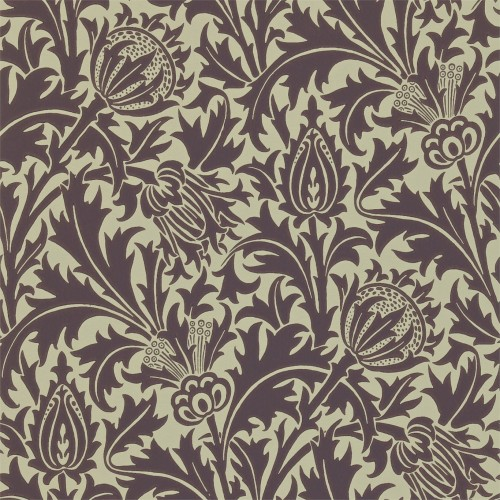 william-morris-thistle-wallpaper