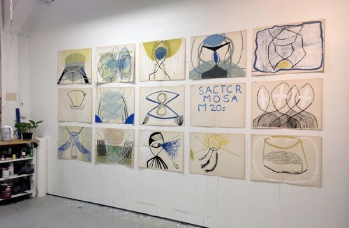 ky-anderson-vintage-paper-installation