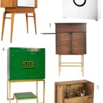 Get the Look: 25 Bar Cabinets, Classic and Contemporary