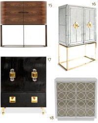 Shop 25 Classic & Contemporary Bar Cabinets