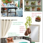 Get the Look: Creating a Bohemian Style Backyard