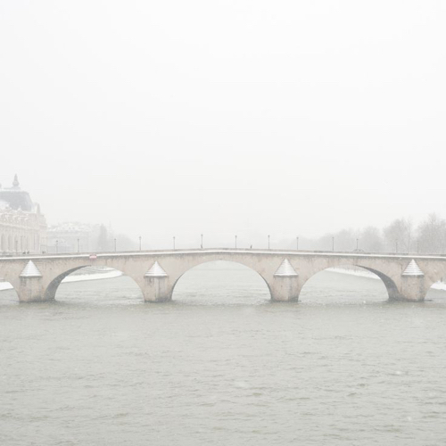 Tess Atkinson Misty Parisian Bridge Photo