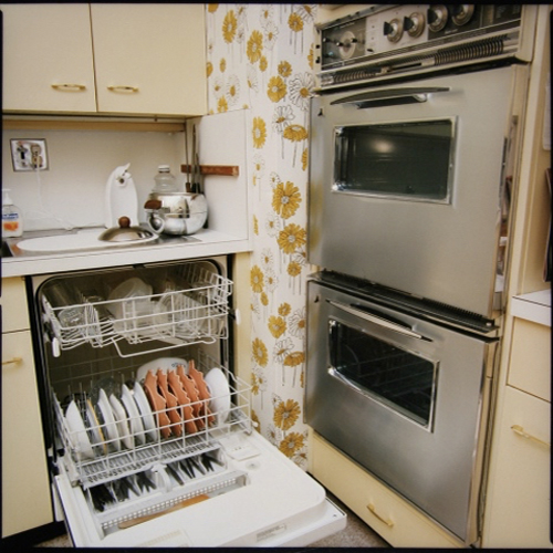 Stefanie Klavens Interior Photograph Seventies Kitchenette