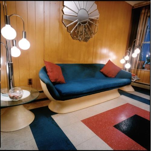 Stefanie Klavens Interior Photograph Wood Paneled Parlour