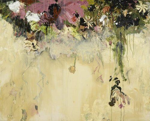 Boston Artist Sarah Meyers Brent Dripping Plant II