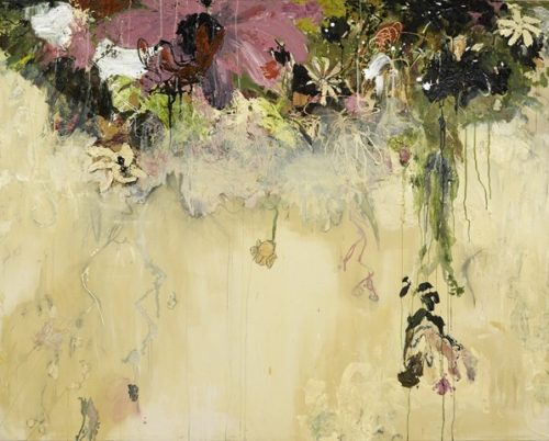 Boston Artist Sarah Meyers Brent Dripping Plant II