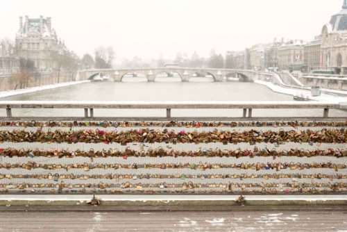 Tess Atkinson Photos Of Paris Love Locks Bridge