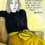 Saturday Say It: Didion on Self-Respect