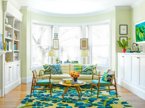 StyleCarrot's Art Filled Living Room In HGTV Magazine