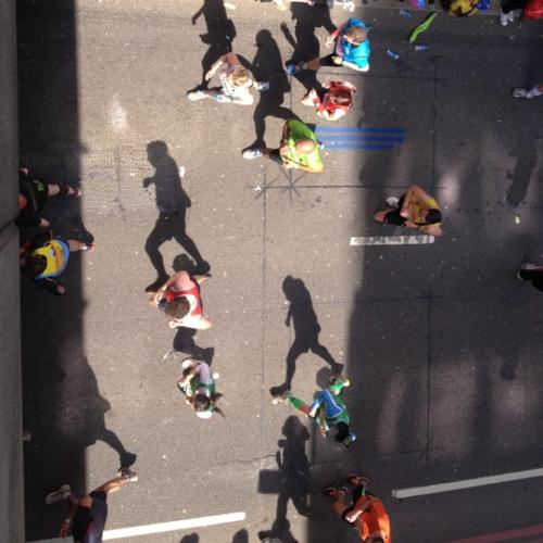 Marathon Related Artwork Runners