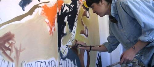 Boston Artist Hilary Tait Norod In Her Studio