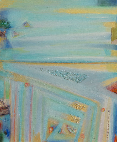 Pastel Abstract By Itala Langmar