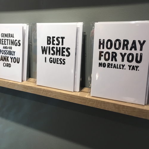 Sarcastic Greeting Cards At Room 68
