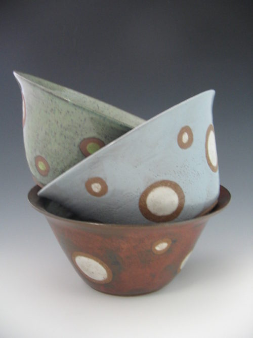 On The Cusp Pottery Bowls