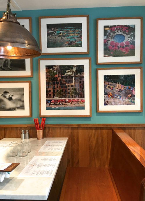 Travel Photography Adorns The Wall At This New Boston Restaurant