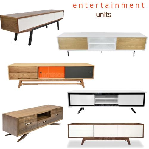 Contemporary Entertainment Media TV Units