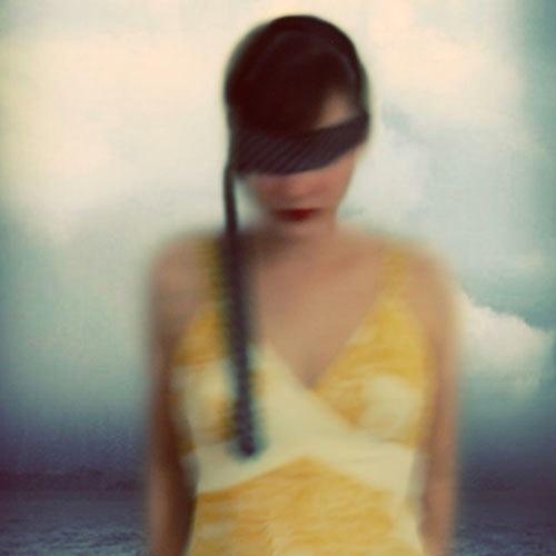 Elle Moss Masked Girl Photo
