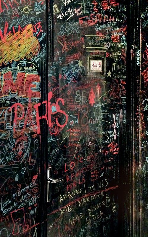 Boston Photographer Sarah Winchester Paris Graffiti