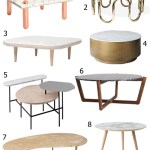 Get the Look: 33 Marble Top Coffee Tables