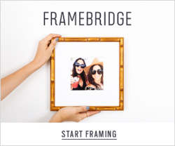 Framebridge Offers Affordable Art Framing