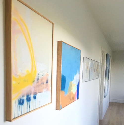 Abstract Paintings By Maine Based Artist Jenny Prinn