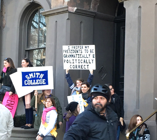 Boston Women's March Signs From Smithies