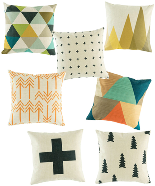 Nordic Style Pillow Covers By Simply Cusions