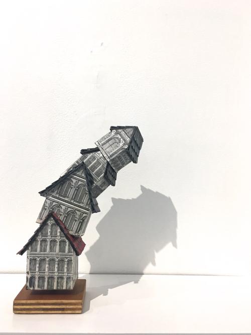 Sculpture At Miniatures Exhibit at Cambridge Art Association By Marni Katz