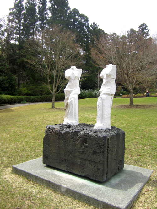 Jim Dine Sculpture At Hakone Open-Air Museum In Japan