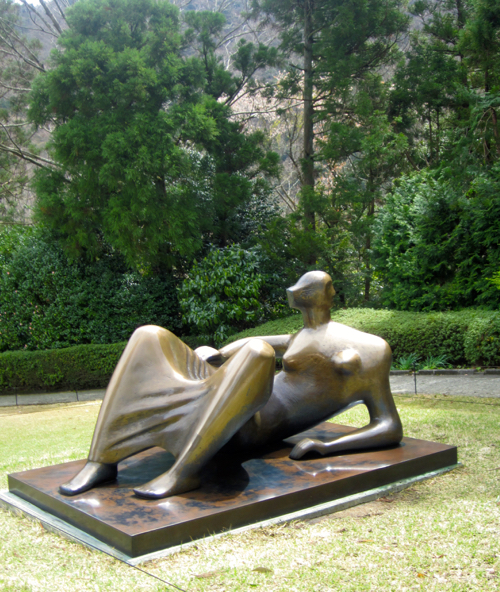 Henry Moore Sculpture In Hakone Japan Sculpture Garden
