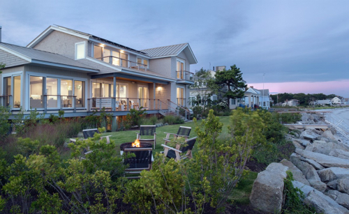 Modern House On Goose Rocks Beach In Maine
