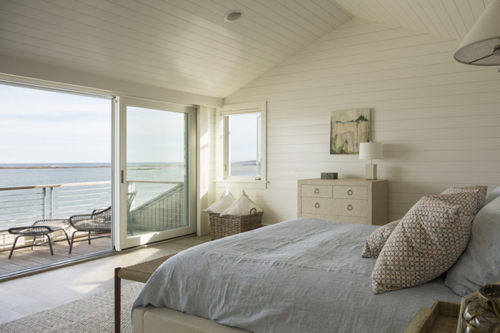 Serene Bedroom WIth Ocean View In Maine
