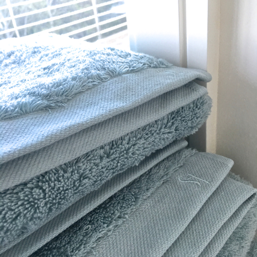 Serena & Lily Calistoga Bath Towels Have A Subtle Monogram